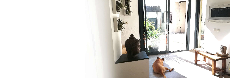 white création-Décoration-ambiance-style-cuisine - décoration d'intérieur